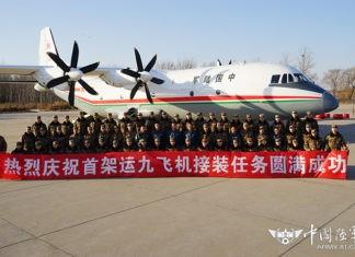 China Mulai Operasikan Pesawat Angkut Shaanxi Y9