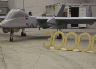 Jerman Perpanjang Kontrak Sewa UAV Heron I Dari IAI.
