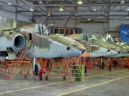 Rusia Hentikan Produksi Massal Pesawat Tempur Su25