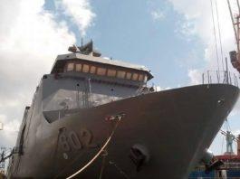Melirik Interior Kapal SSV 2 BRP Davao Del Sur 602