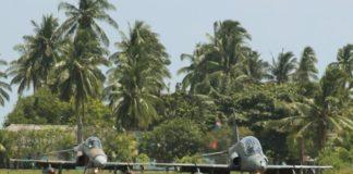 Hawk 109 dan Hawk 209 TNI AU. Kredit Foto: Ipenk666/Ifan Triyanto.