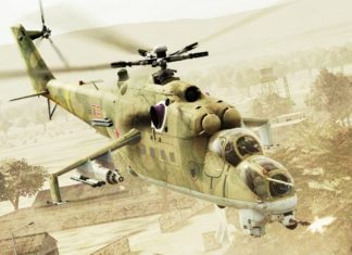Helikopter tempur Rusia Mil Mi-24 Hind