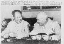 Mao Zedong dan Nikita Khrushchev