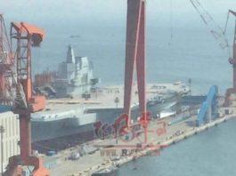 Tiongkok Luncurkan Kapal Induk Kedua