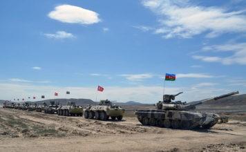 Latihan Bersama Azerbaijan Dan Turki