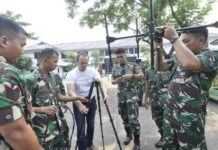 Korps Marinir RI Gelar Pelatihan Alkom DDF Generasi Terbaru