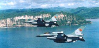 F-16A dan B kita pernah melakukan dogfight dalam kondisi real dengan F-18 US Navy.