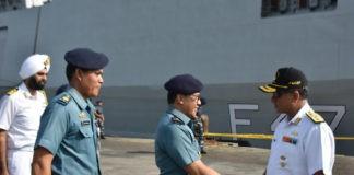 Kapal Perang India Lanjutkan Perjalanan Ke Australia
