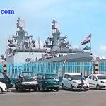 Foto Kunjungan Kapal Perang India Ke Surabaya