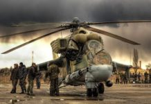Helikopter Tempur Mil Mi-24P Hind VVS Rusia