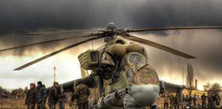 Helikopter Tempur Mil Mi-24P Hind VVS Rusia