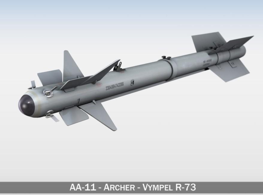 Rudal R-73 alias AA-11 Archer