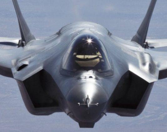F-35 JSF Tampak depan
