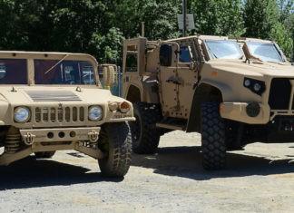 JLTV dan Humvee