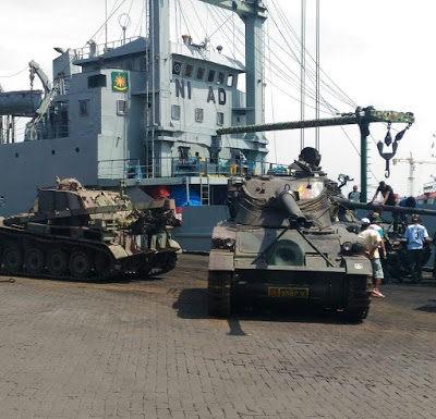 Tank AMX13 Kodam Brawijaya Pindah Rumah Ke Kodam Tanjung PuraTank AMX13 Kodam Brawijaya Pindah Rumah Ke Kodam Tanjung Pura