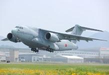 Jepang Beli Armada Pesawat Angkut Kawasaki C2
