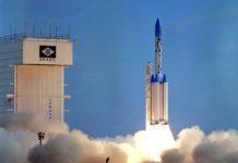 Roket VLS Brazil Saat Diluncurkan.