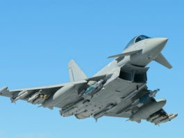 Ilustrasi Jet Tempur Eurofighter Typhoon