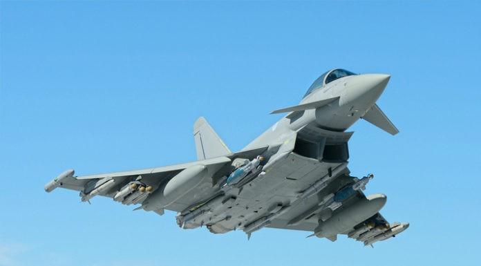 Ilustrasi Jet Tempur Eurofighter Typhoon
