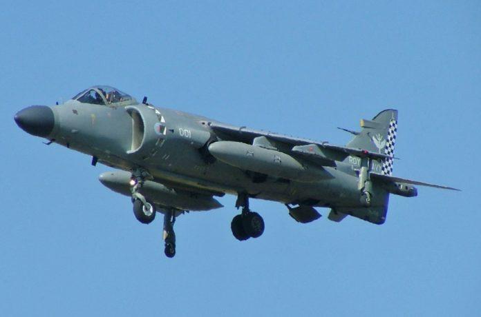 Sea Harrier, bukti kedigdayaan Angkatan Laut Inggris di Udara dan di Lautan