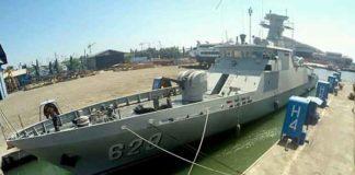 KRI Tombak, Salah Satu Kapal Yang Launcher Rudal C705 nya Dilepas dan Diganti CIWS Type630
