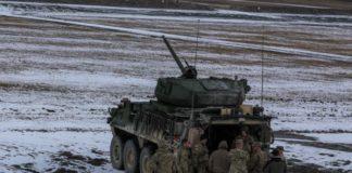 IFV Stryker Dengan Senjata Meriam Otomatis Ditempatkan Di Eropa