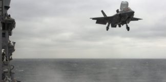 USMC Persiapkan Operasional Skuadron F35B Diatas LHD