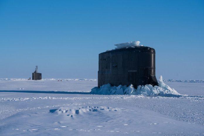 Kapal Selam Amerika Dan Inggris Laksanakan ICEX 2018 Di Kutub Utara