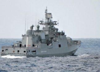 Rusia Kirimkan Dua Fregat Ke Laut Mediterania Timur