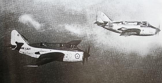 Fairey Gannet Pesawat AKS Legendaris TNI AL