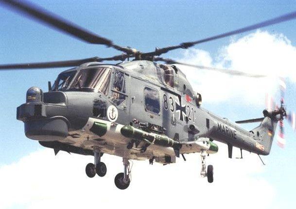 Helikopter Sea Lynx Mk.88A Yang Merupakan Aset Udara Di Kapal Perang Kelas Sachsen