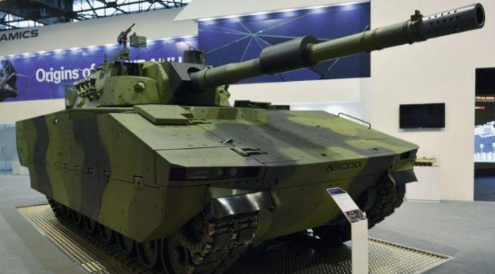 GDELS Tampilkan Tank Medium ASCOD MMBT Di Eurosatory 2018