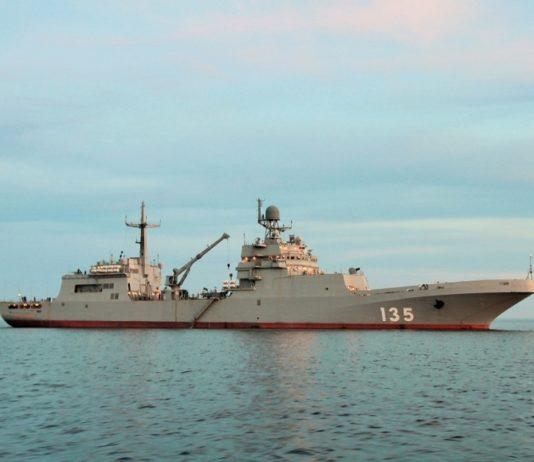 Rusia Resmikan Operasional Kapal LST Kelas Ivan Gren