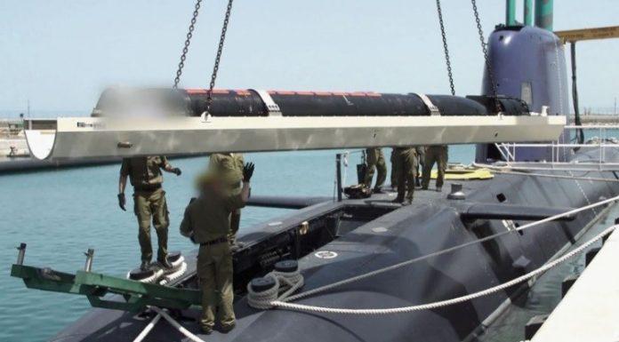 Israel Mulai Gunakan Torpedo Jenis Baru Kaved