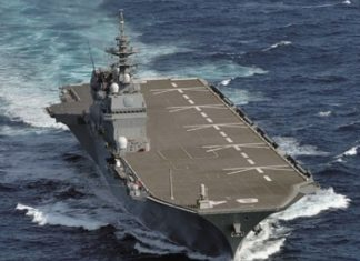 Jepang Kirimkan Kapal Angkut Helikopter Ke Laut China Selatan