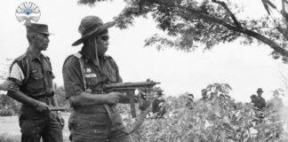 Foto latihan gabungan TNI 1969