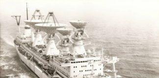 Kapal Pengendali Satelit Milik Soviet