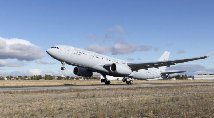 Pesawat Tanker A330 MRTT Untuk AU Korea Selatan Jalani Test Penerimaan