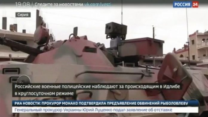 Rusia Turunkan Kendaraan CBRN Baru Ke Suriah