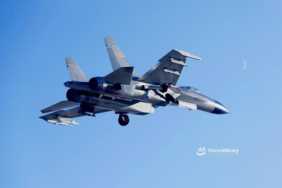 Foto foto J-11, Copy Su-27SK Flanker dari China