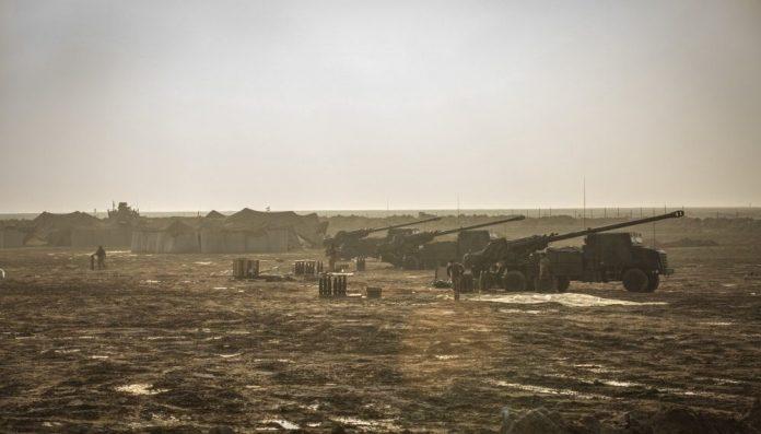 Pasukan Prancis Dukung Pasukan Demokratik Suriah