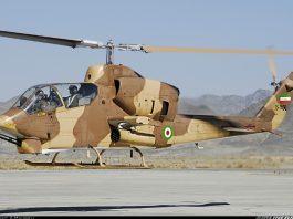 Bell AH-1J Militer Iran