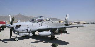 Super Tucano AU Afghanistan Laksanakan Misi Terbang Malam Perdana