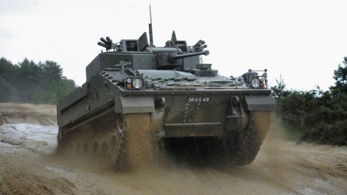 Warrior 2 AFV Sukses Lakukan Uji Tembak Persenjataan Tanpa Awak