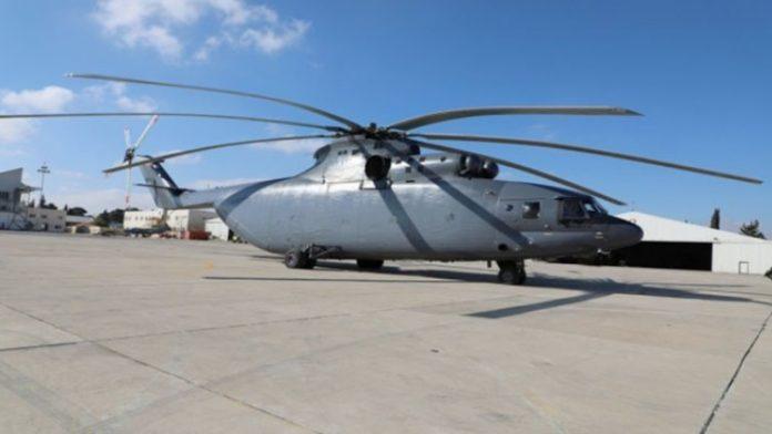 Jordania Terima Unit Kedua Helikopter Mi26 Halo