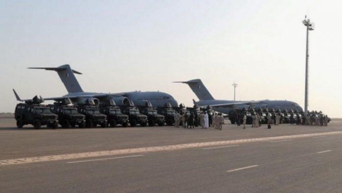 Qatar Hibahkan Kendaraan Tempur Storm APC Untuk Mali