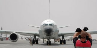 Amerika Menerbangkan Pesawat Pengintai Elektronik di Lepas Pantai Venezuela, Persiapan Perang?