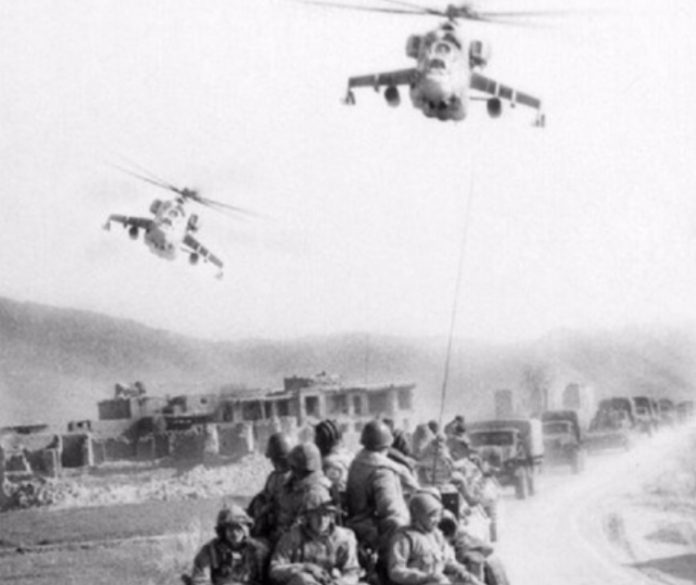 Foto - Foto Dokumentasi Pendudukan Tentara Soviet di Perang Afghanistan Era 80-an