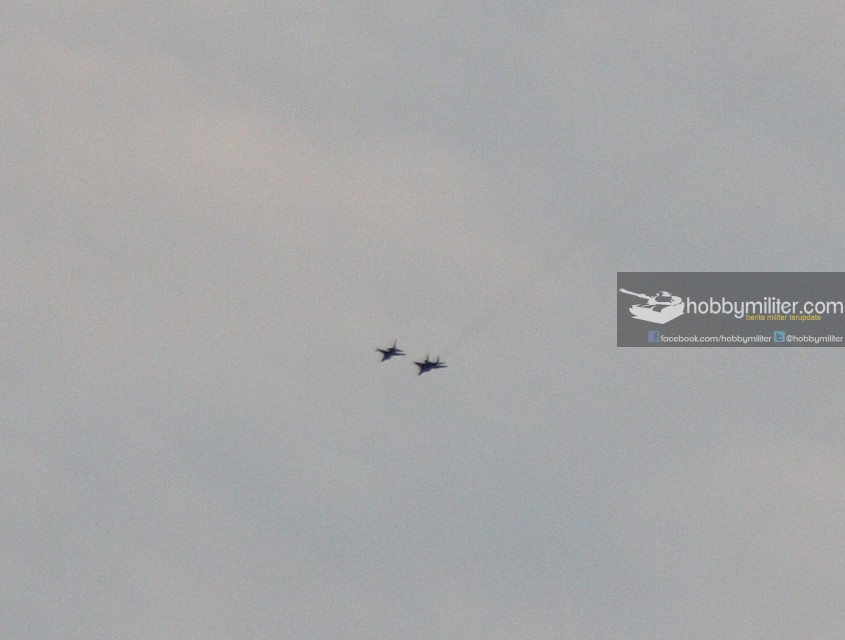 Latihan dogfight F-16 USAF vs MiG-29 USAF diatas Groom Lake, 2009