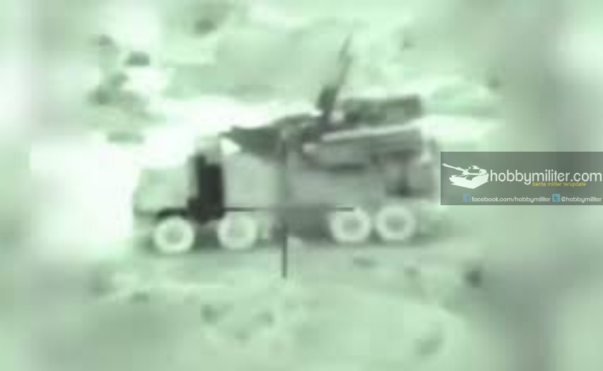 Sistem rudal pertahanan udara Pantsir milik Suriah dalam bidikan rudal Popeye Israel